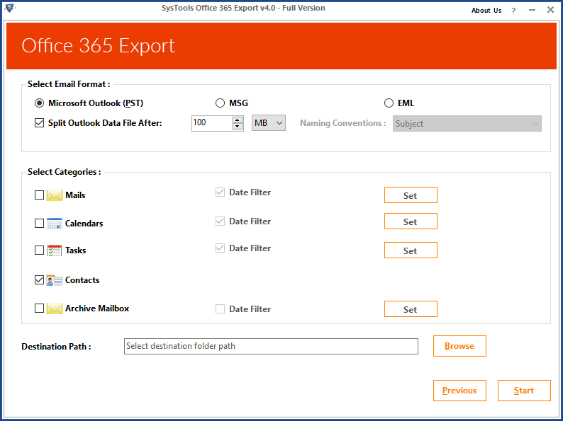 Export Contacts from Office 365 Step by Step Successfully | Tips