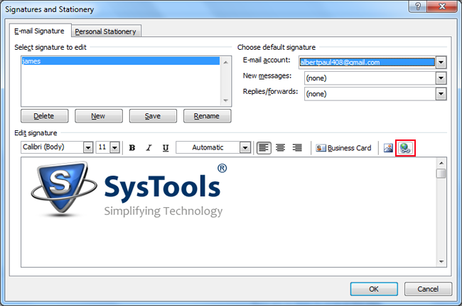 Insert Image Icon Outlook Create Images with Hyp...