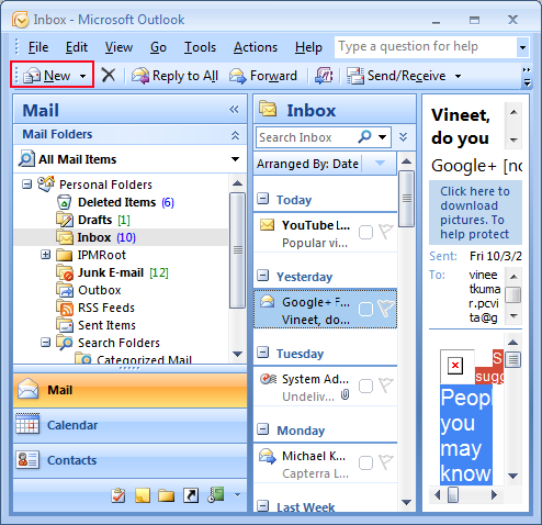 Set Outlook to Receive Plain Text Only in Emails
