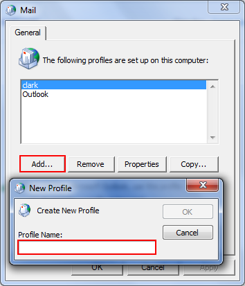 create outlook