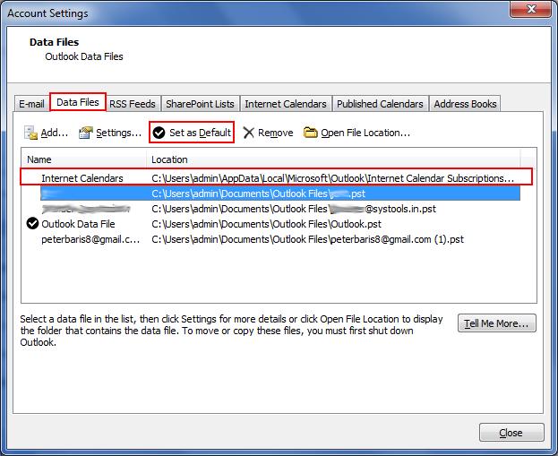 How to Change Default Calendar in Outlook & Exchange