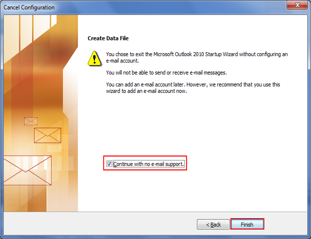 How To Open Outlook Data File Without An Email Account