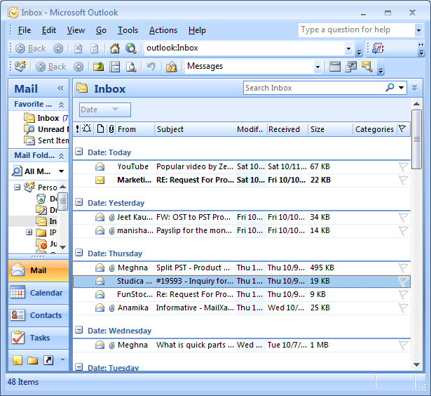 Manually Remove Duplicates Emails From Microsoft Outlook