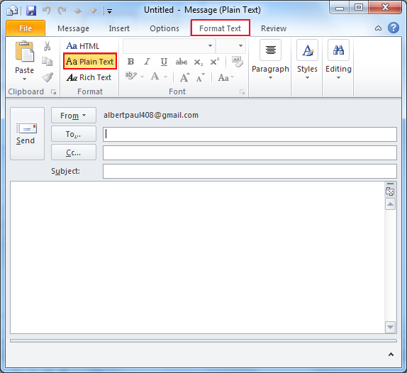 outlook how to change send receive time