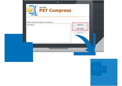 Compress PST Banner