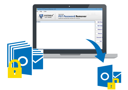 PST Password Recovery Banner